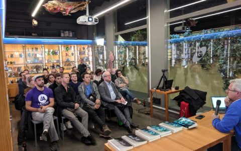 Signatures – Gigamesh bookshop, Barcelona – 24 January 2019
