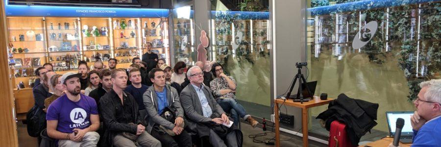 Séance de dédicaces du 24 janvier 2019 à la librairie Gigamesh à Barcelone